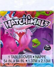 Hatchimals Plastic Table Cover Birthday Party Supplies 1 Per Package New