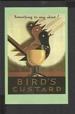 Nostalgia Postcard Advertisement for Birds Custard From Punch Magazine 1929