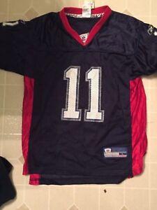 Youth Buffalo Bills Drew Bledsoe L (14/16) Reebok NFL Equipment Jersey Patriots