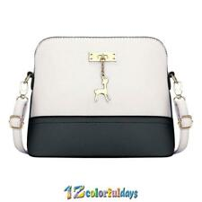 Women Girl Tote Messenger Bags Lady PU Handbag Cross Body Bag Shoulder Bag Purse