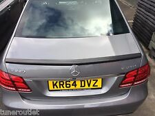 MERCEDES E CLASS W212 AMG STYLE CURVED WING REAR TRUNK BOOT LIP SPOILER Y2096