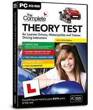 The Complete Theory Test: 2016 by Focus Multimedia Ltd (DVD-ROM, 2016)