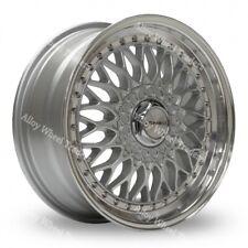 "15"" Silver BSX Alloy Wheels Fits Alfa Romeo 147 156 164 75 90 GT GTV 5X98"