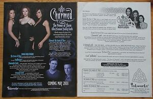 Charmed The Power Of Three Premium Trading Cards dealers sell sheet Inkworks