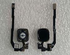 Accueil Bouton Home + Câble Flexible Doigt Imprimer Touch Id Capteur Noir Iphone