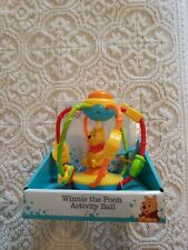 Disney Baby Winnie The Pooh Activity Ball,  6+ Months, New.