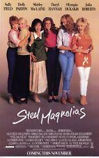 STEEL MAGNOLIAS Movie Promo POSTER Sally Field Dolly Parton Shirley MacLaine
