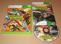Anarchy Reigns for Xbox 360 Complete Fast Shipping!