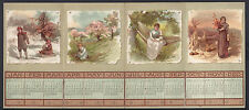 Queen Victoria Signed Christmas Card Postage Rates Calendar to Princess Irene