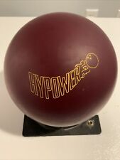 New listing CARMEN SALVINO Rare! HyPower CSI Burgundy Urethane Used 16lb Bowling Ball
