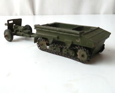 Dinky Toys 162a Dragon Personnel Tractor Carrier with Light Field Canon Gun