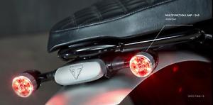 GENUINE TRIUMPH BOBBER MOTORCYCLE MULTIFUNCTION LAMP INDICATORS SHORT