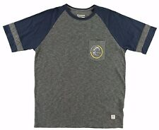 O'Neill SHELTERED CREW Mens Short Sleeve T-Shirt Size Medium Heather Grey NEW
