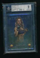 2013 Finest UFC Valor Glory #V10 Ronda Rousey V-10 BGS 9 mint highest cool card