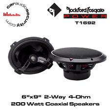 "Rockford Fosgate Power T1692 6""X9"" 2-Way Full-Range Speakers  200 Watts"