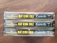 The unforgettable Nat King Cole Collector's edition Cassette tapes