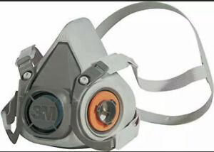Reusable Half Face Mask, 6200, EN safety certified, + 1 set of filters