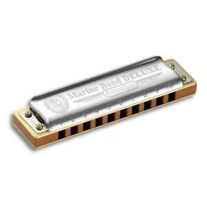 Hohner Marine Band Deluxe Harmonica M200503 x D