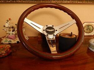 Aston Martin V8 Vantage NARDI Wood Steering Wheel Adapter Hub Boss Horn Push