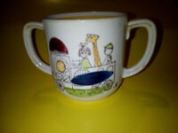 Rare Rorstrand Sweeden Toddler/baby 2 handled cup