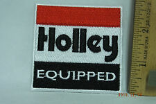 Holley Equipped Patch  Iron-On Embroidered Patch