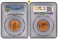 1963 Australia Proof Half penny Coin PCGS Graded PR66RD
