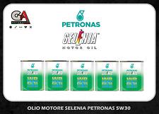 Olio Selenia 5w30 5 litri wr pure energy olio motore auto Fiat Alfa Lancia