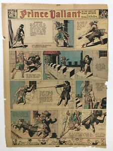 Prince Valiant Sundays, Hal Foster, 1938, 45 Pages