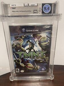 TMNT Gamecube Nintendo Factory Sealed WATA 9.4 A+ Teenage Mutant Ninja Turtles