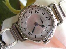 1930's Ladies Art Deco Gruen Watch ~ Runs