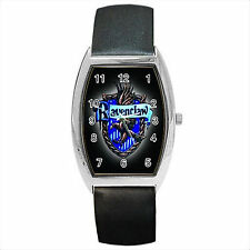 NEW* HOT HARRY POTTER RAVENCLAW HOGWARTS SCHOOL Barrel Wrist Watch Gift D01
