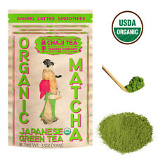 Chaji Organic Matcha Japanese Green Tea Powder, Culinary Grade 100 gram bag
