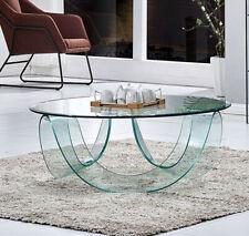Tavolino tavolo basso da caffè salotto elegante in vetro Cristallo Luxury Z-20
