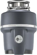 3/4 HP Garbage Disposal Compact Continuous Feed Home Kitchen Food Waste Disposer