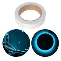 Glow In The Dark Sticky Tape Self Adhesive Luminous Saftey Film Sticker Roll JM