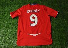ENGLAND NATIONAL TEAM ROONEY 2008-2010 FOOTBALL SHIRT JERSEY AWAY UMBRO ORIGINAL