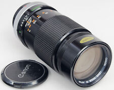 CANON FD 200mm f4 - Chrome -