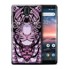 STUFF4 Back Case/Cover/Skin for Nokia 8 Sirocco 2018/Aztec Animal Design