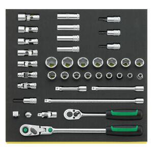 Stahlwille 96830602 Socket set TCS 456/31/8, 39pcs.