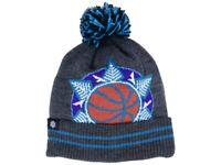 Utah Jazz Mitchell & Ness NBA Basketball Team Logo Pom Pom Knit Hat Beanie