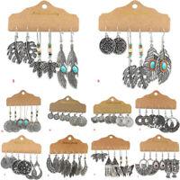 Gypsy Tassel Ear Festival Earrings Jewellery Drop Dangle Tribal Ethnic Boho Hook