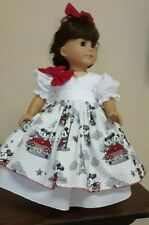 DOLL CLOTHES AND ACCESSORIES FITS AMERICAN GIRL DOLL'S.MICKEY AND MINNIE.