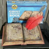 "Spirit Halloween Animated 10"" Ghost Writing Book *NEW* - YJ 2014-17"
