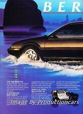 1987 Chevrolet Beretta GT - 2-page Advertisement Print Art Car Ad J758
