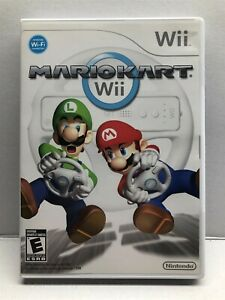 Nintendo Wii - Mario Kart Wii - Case Artwork and Manual Only - NO GAME - LN