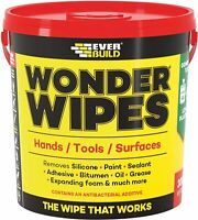 Everbuild Wonder Wipes  Giant 300 Tub GIANTWIPE  Multi Purpose / Hand Cleaning
