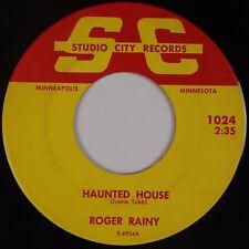 ROGER RAINY: Haunted House STUDIO CITY Minnesota Country '65 Rare HEAR