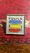 The Police Sting Badge Pin Pinback Vintage  80s