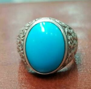 Details about  /Vein Turquoise Stone Turkish Jewelry 925 Sterling Silver Mens Ring ALL SİZE