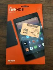 Amazon Kindle Fire HD 8 Tablet 16 GB w/Alexa 7th Gen 2017 Black